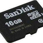 16GB Speicherkarte
